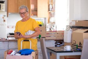 Seniors moving home